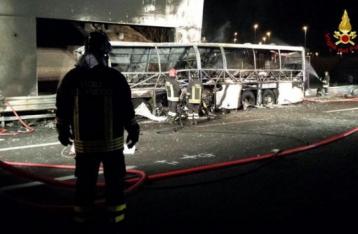 В Италии разбился венгерский автобус: 16 погибших