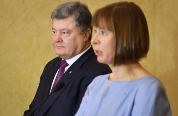 Порошенко: Украина готова на решительные шаги для освобождения заложников