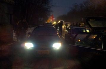 Автомобилисты перекрыли въезды в Киев