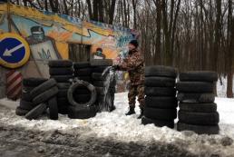 Автомобилисты продолжат блокировать въезды в Киев до 20:00