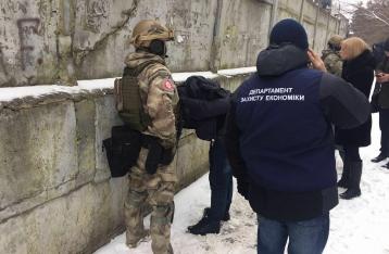Руководителей госпредприятия в зоне ЧАЭС поймали на взятке в 700 тысяч
