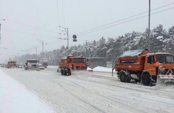 Киев снова закрыли для грузовиков