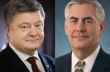 Порошенко рассказал госсекретарю США об эскалации на Донбассе
