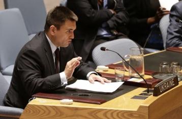 Климкин призвал реформировать Совбез ООН