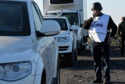 НВФ обстреляли наблюдателей ОБСЕ и забрали беспилотник миссии