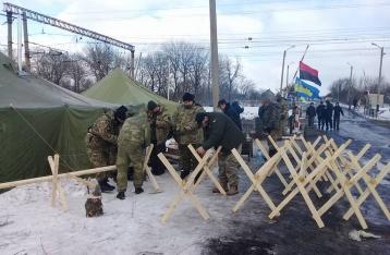 Полиция задержала 37 человек, напавших на участников блокады
