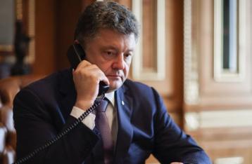 АП: С начала обострения на Донбассе Порошенко дважды говорил с Путиным