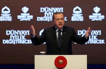 Эрдоган обвинил Запад в вооружении террористов на Ближнем Востоке