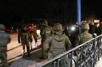 Под Славянском произошел конфликт между блокадниками и полицией
