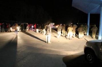 Полиция со стрельбой задержала блокировщиков под Краматорском