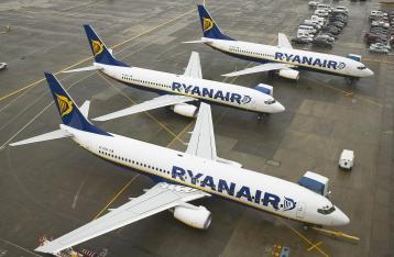 Лоукостер Ryanair откроет 11 рейсов из Киева и Львова