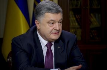 Порошенко назвал условия снятия транспортной блокады ОРДЛО