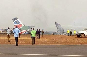 В Южном Судане разбился пассажирский самолет, более 40 погибших