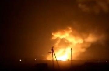 На складе боеприпасов в Харьковской области произошел взрыв, проводится эвакуация