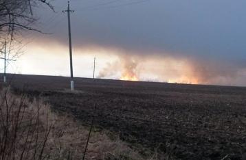 Радиус эвакуации вокруг горящих артскладов увеличили в два раза