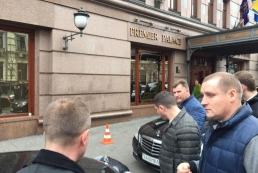 В центре Киева расстреляли двух мужчин