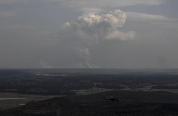 Интенсивность взрывов на складах в Балаклее уменьшилась