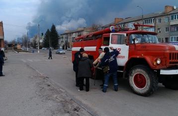 Интенсивность взрывов на складах в Балаклее значительно уменьшилась