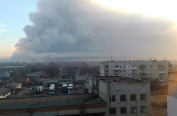 Пожар на складах в Балаклее ликвидирован