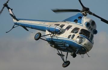 Под Краматорском разбился вертолет Ми-2