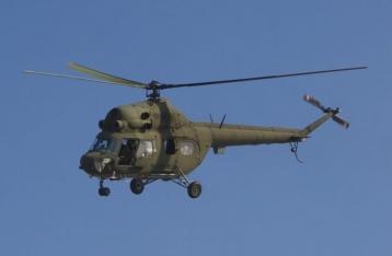 В результате крушения вертолета возле Краматорска погибли 5 человек