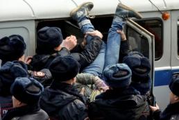 В Москве на «АнтиДимоне» задержали более тысячи человек