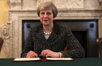 Великобритания официально запустила процесс выхода из ЕС