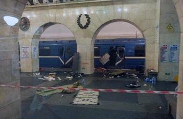 СК РФ:  В метро Петербурга произошел один взрыв, заведено дело