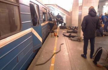 Опубликовано фото предполагаемого террориста, устроившего взрыв в питерском метро