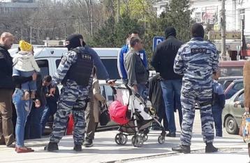 На рынке Симферополя задержали 60 человек