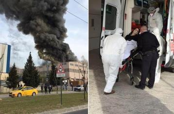 В Турции на текстильной фабрике прогремел взрыв, есть пострадавшие