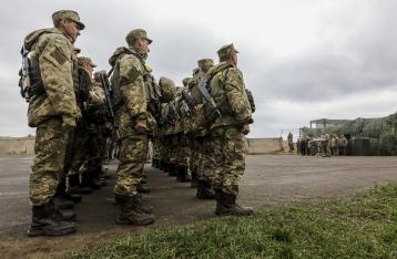 Сутки в зоне АТО прошли для военных без потерь