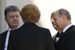 Лидеры «нормандской четверки» обсудили Донбасс