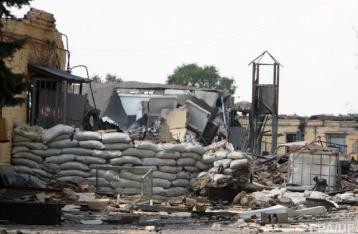 В результате обстрела опорного пункта под Авдеевкой погиб военный