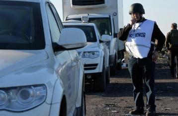В результате подрыва авто погиб наблюдатель ОБСЕ, еще один ранен