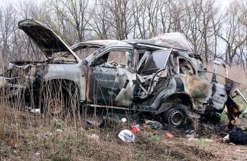 Турчинов: Виновные в подрыве автомобиля ОБСЕ находятся в Кремле