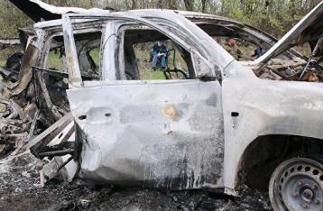 Хуг: Подрыв авто ОБСЕ не был несчастным случаем