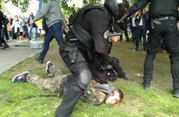 Полиция: Во время массовых мероприятий задержаны 50 человек