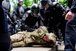 День Победы в Киеве: праздник со столкновениями на улицах