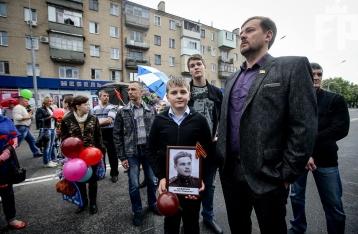 Главу полиции Мелитополя отстранили из-за «незамеченных» георгиевских лент