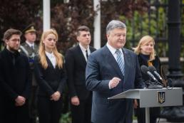 Президент: Украина навсегда отошла от Советской и Российской империй