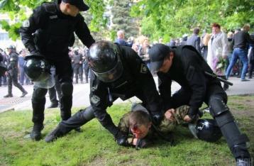 Трое бойцов Нацполиции отстранены из-за стычек в Днипре
