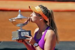 Свитолина выиграла теннисный турнир в Риме