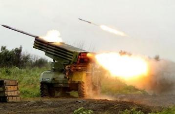 Боевики обстреляли Авдеевку из «Градов», ранен мужчина