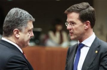 Премьер Нидерландов: Сенат готов поддержать Ассоциацию с Украиной