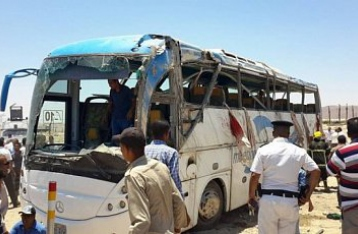 В Египте боевики обстреляли автобус с христианами, погибли 23 человека