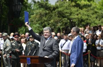 Порошенко подписал указ об обеспечении права украинцев на безвизовые поездки в ЕС