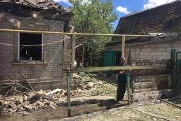 В Красногоровке повреждено 29 зданий