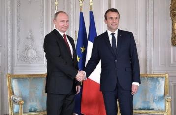 Сирия, Украина, права геев в Чечне: что обсуждали Путин и Макрон