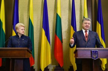 Порошенко считает, что Украине рано подавать заявку на членство в НАТО